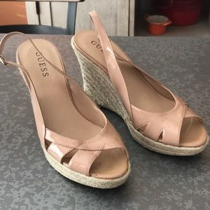 Guess Zabrina Wedge sandals. 7 1/2